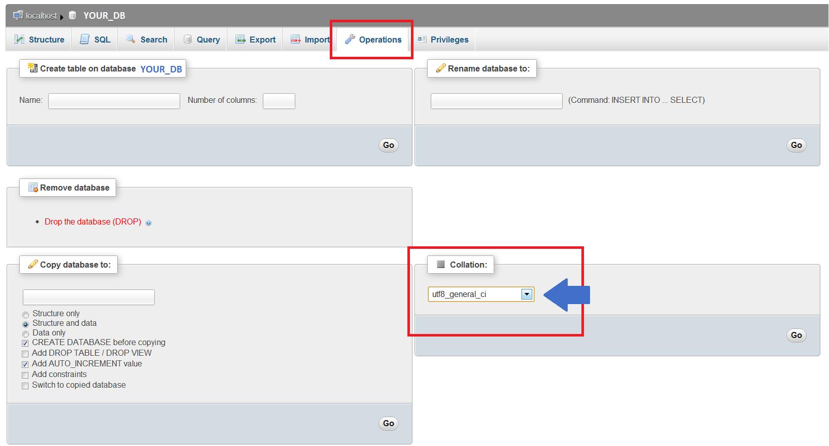 Database collation - UTF8 - Free Modules & Themes - PrestaShop